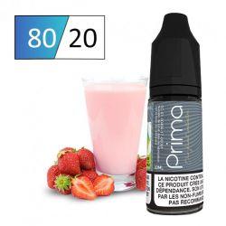 E-liquide milkshake fraise pour cigarette électronique